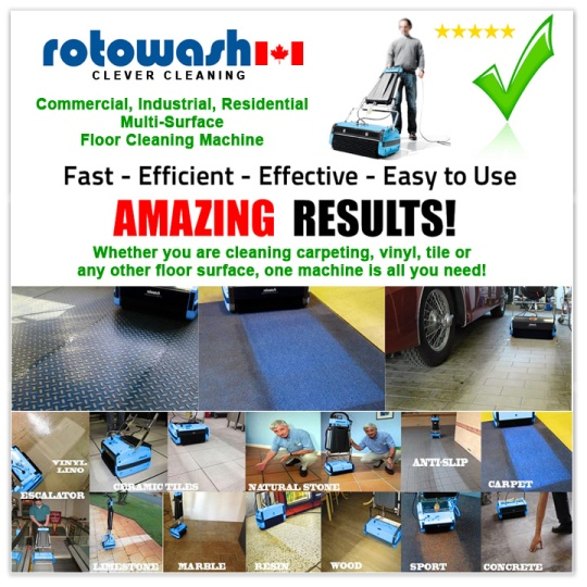 Industrial Floor Cleaners - Floor Washer - Best Floor Scrubber