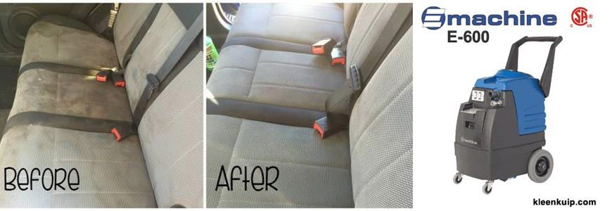 How to remove car upholstery stains auto interior detailing machine